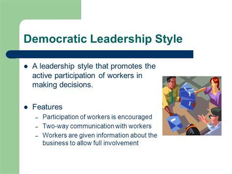 Democratic leadership style essays jpg 960x720